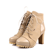 factory low price boots,PU upper women sex high heel boots