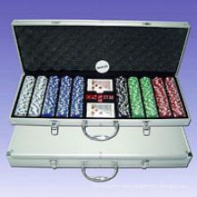 Poker Chips Set (P500L )