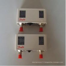 Série Kp Danfoss Controler haute / basse pression avec commutateur de réinitialisation automatique / manuel