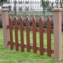 WPC Gartenzaun, Holz Kunststoff Verbundzaun
