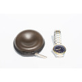 Zipper watch case travel case with soft cushion