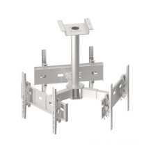 TV Ceiling Wall Mount / Bracket 3-Screens Vesa Max. 600*400