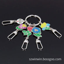 Metal Keychain, Made of Zinc-alloy