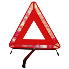 Triangle d'avertissement de route réfléchissant pour la sécurité routière