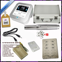 Permanent Makeup Pen Tattoo Eyebrow Machine Kit Ring Tips Needles Caps,Permanent Eyebrow Tattoo Kit,Permanent Makeup Machine Kit