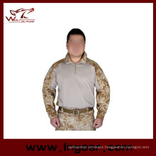 Tactical Military T Shirt Long Sleeved Shirt for Airsoft