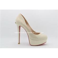 Sexy High Heel Platform Leather Women Shoes