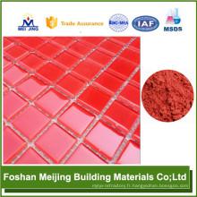 Vente chaude top qualité carbone noir pigment verre mosaïque usine