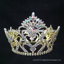 Top ventes mode accessoires de mode couronne designer de mariée nuptiale tiare mariage cheveux couronne