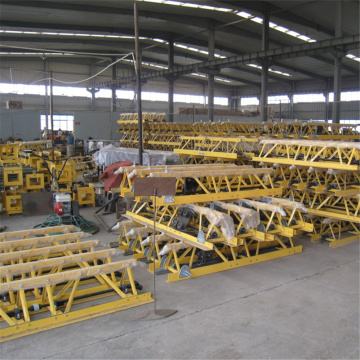 4-16m longitud de trabajo concreta vibratoria Truss Screed Machine