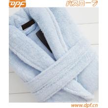High Quality 100% Cotton Super Soft Bathrobe for Ladier 3 Colors, L, XL for Autumn & Winter Season