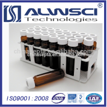 White PP Vial Rack for 40ML EPA VOA Vial