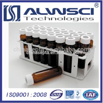 White PP Vial Rack für 40ML EPA VOA Vial
