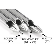 Short Stainless Steel Tattoo Tips Tattoo Tubes