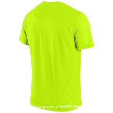 Custom Blank Microfiber Dri-Fit Tshirt for Promotion
