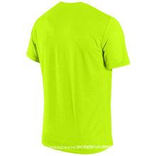 Tshirt Dri-Fit vazio feito sob encomenda de Microfiber para a promoção