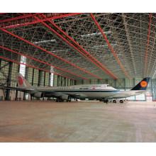 Hangar Aircarft ao ar livre com design de aço durável e confiável