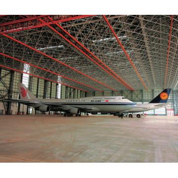 Entrepôt en acier de hangar d'avions de bâtiment en métal