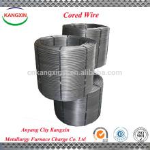 Liga de fio de bário com núcleo de silício de cálcio para fundição e fundição de ferro