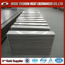 Hot selling OEM custom made plate and bar aluminum intercooler core