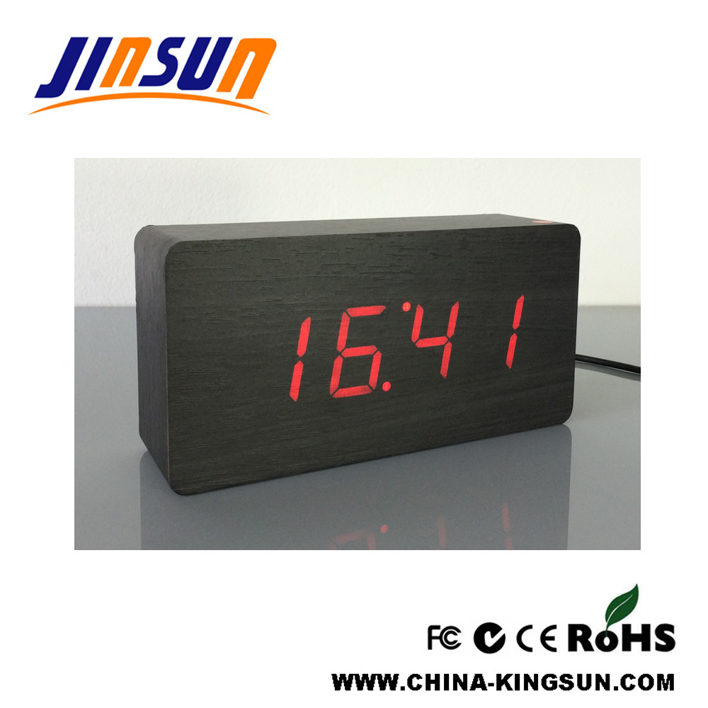 Desktop Led Alarm Clock