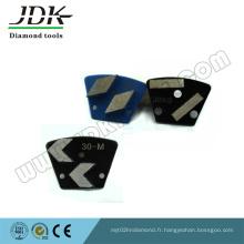 Béton Meulage Rectangle Segments de diamant Meules de meulage