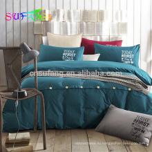 Роскошные 500TC 100% хлопок роскошные постельные принадлежности комплект лист