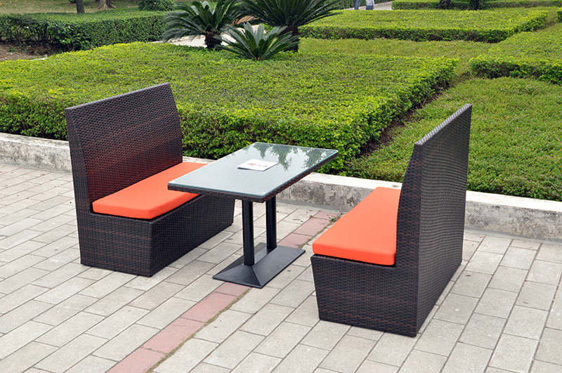 Rattan Patio Furniture Dining Set