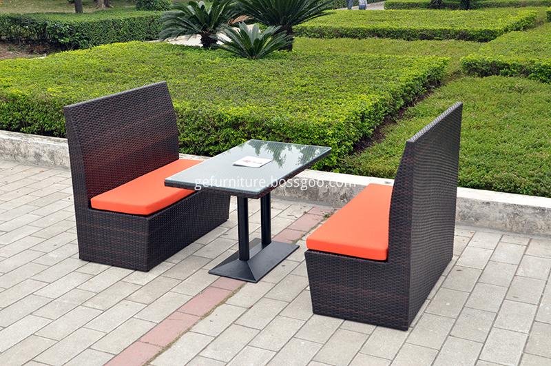 Rattan Patio Furniture Dining Set