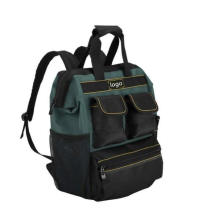 Factory Custom Durable Tools Backpack Storage Bag Toolkit with Tool Organizer