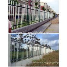 clôture en treillis métallique pvc (usine)