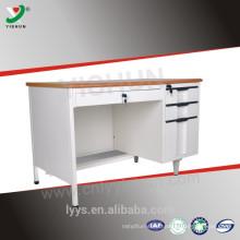 Modern executive steel office desk / office reception desk / computer desk