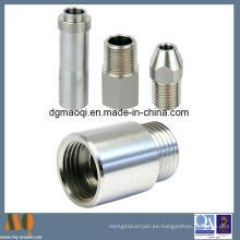 Tornos CNC de aluminio para piezas de maquinaria (MQ107)