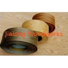 Yellow / Brown Paper Backed Veneer Sliced Cut Fleece For Pl