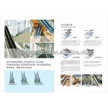 Escada rolante de aço inoxidável, uso Ourdoor com poupança de energia