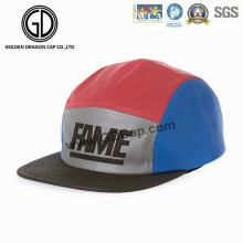2016 tampão colorido brilhante na moda do campista do Snapback com logotipo personalizado