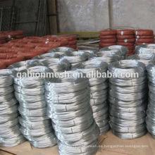 Productos de venta caliente tratamiento de superficie electro galvanizado hierro alambre / vinculante alambre