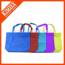 Unique cotton non woven canvas foldable shopping bag