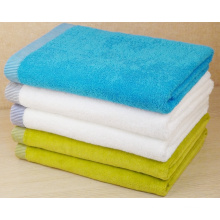 (BC-TB1006) Hot-Sell 100% Cotton Colorful Terry Bath Towel