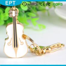 Best Seller Custom violino em forma de USB Flash Drive