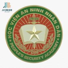 New Design Casting Alloy 3D Logo Custom Enamel Coin for Veitnam