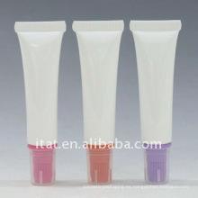 Precio de Fábrica Offset de impresión brillante Blanco Tubo de plástico Embalaje