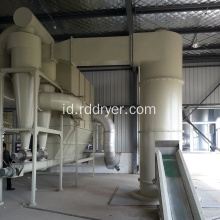 Mesin Pengeringan Barium Stearate Aluminium Chloride Rotating Flash Drying Equipment