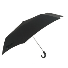 folding crook handle man umbrella 3