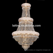 Incandescent luminaire hanging mmetal chandelier lighting