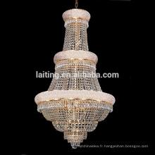 Incandescent luminaire hanging mmetal chandelier lighting