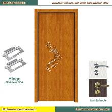 Puerta de madera de Europa Puerta de madera de madera anhelada