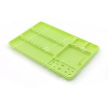 Bandeja de plástico dental descartável