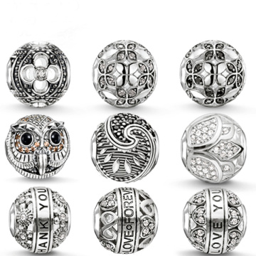 Hot Sales 925 Sterling Silver European Beads Jewelry