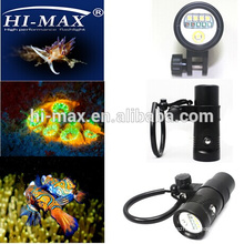 Latest UV led 3pcs 30W diving video light waterproof 100m neoprene fabric diving suit